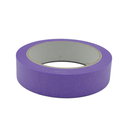 Fineline washi purple